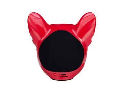 Enceinte Dog sans fil rouge