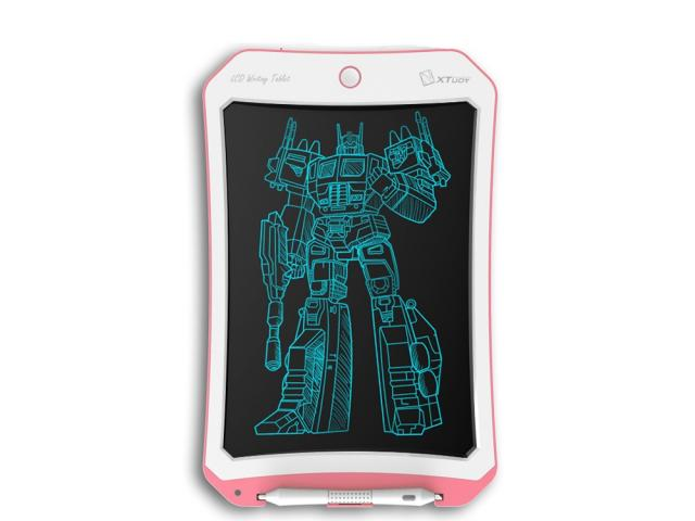 Tablette LCD 8.5 pouces Monochrome - Rose