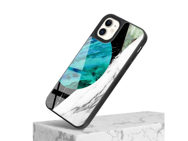 Coque de protection pour iPhone 11 - Marble Edition - Galaxy