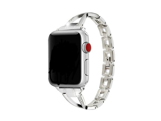 Bracelet Strass pour Apple Watch 38/40mm - Argent