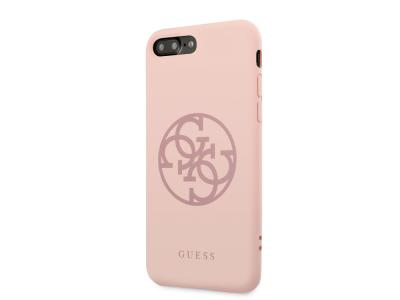 Coque Guess 4G Tone pour iPhone 7 Plus et iPhone 8 Plus - Rose