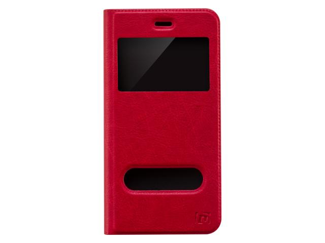 Étui Double View rouge pour iPhone 6 Plus & 6S Plus