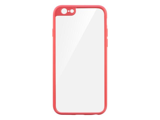 Coque de protection rose pour iPhone 6 & 6S - Modèle Glass