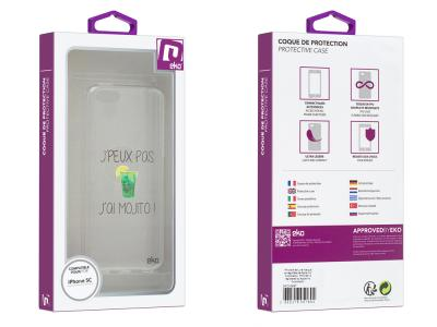 Coque de protection en TPU pour iPhone 5C - Design487