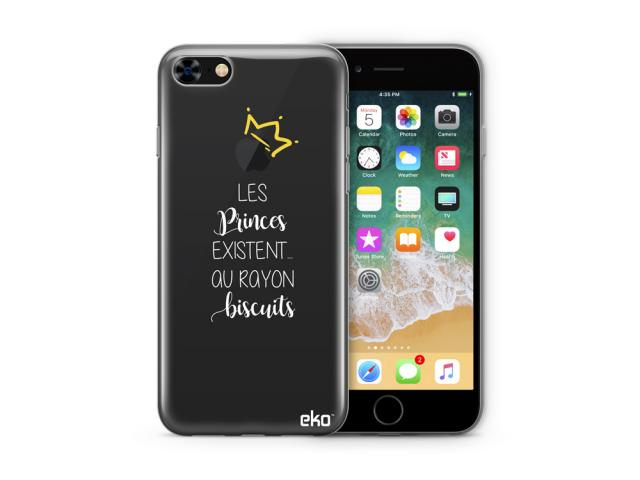 Coque de protection en TPU pour iPhone 7 & 8  - Design672