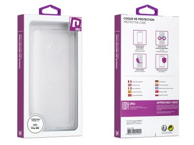 Coque de protection transparente en TPU pour HTC One M9